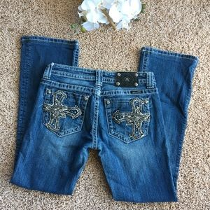 Miss me boot cut jeans 29